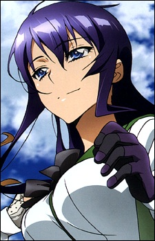 highschool of the dead Saeko Busujima