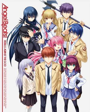 Angel Beats dvd