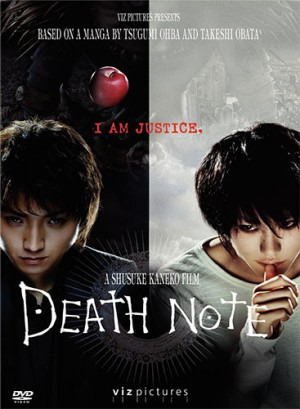 Death Note dvd movie
