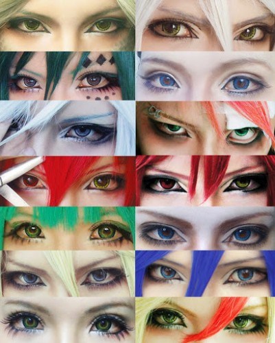 ET The Pains and Sufferings of Cosplaying Cosplay Make Up
