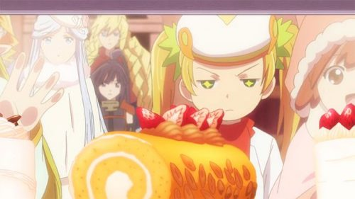 eat the cake anime anime recipes roll cake from log horizon 3804