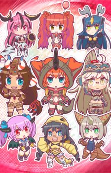 Kaijuu Girls Key Visual 1