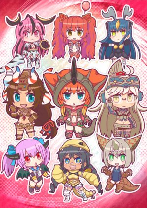 Kaijuu Girls Key Visual