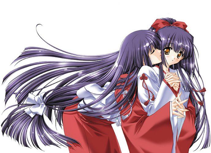 Kao-no-nai-Tsuki-wallpaper-689x500 Top 10 Yuri Kiss Scenes in Hentai Anime