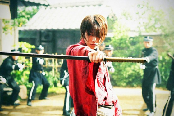 Kenshin, el guerrero samurái dvd movie Capture