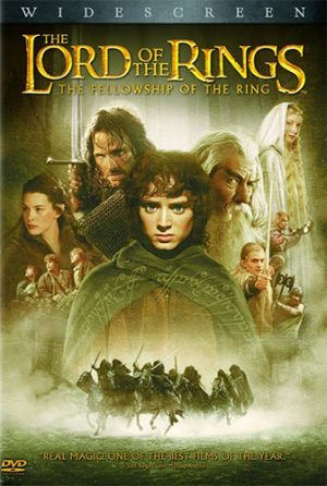Lord of the Rings dvd