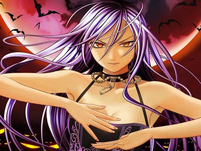 Moka-Akashiya-Rosario-Vampire-wallpaper-1-667x500 [Thirsty Thursday] Top 10 Female Seiyuu with the Sexiest Voice