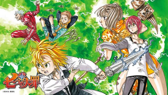 Nanatsu-no-Taizai-Seven-Deadly-Sins-Wallpaper-1-560x315 Top 10 Manga Ranking [Weekly Chart 07/01/2016]