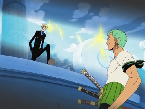 ONEPECE Capture Image 4. Unresolved Sexual Tension with Sanji