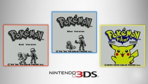 Pokemon Virtual Console Release Official