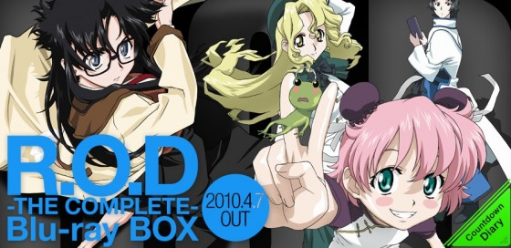 Read-or-Die-560x272 Classic Anime & Light Novel ROD (Read or Die) Is Coming Back!
