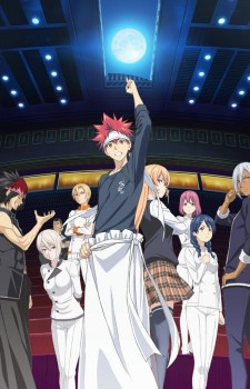 Shokugeki no Soma 2nd Season Key Visual 2