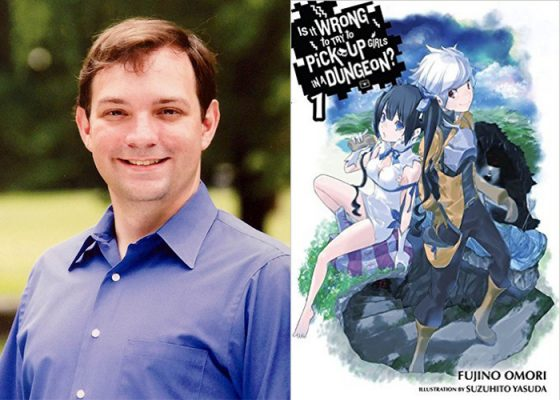 danmachi-interview-top-560x400 [Honey's Anime Interview] Andrew Gaippe, Official Manga & LN Translator for Danmachi (Kanagawa, Japan)