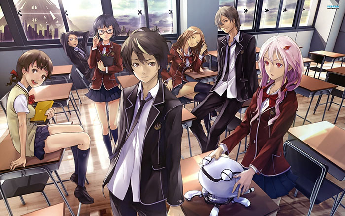 guilty-crown-wallpaper Top 10 Sci-fi Characters in Anime [Updated]