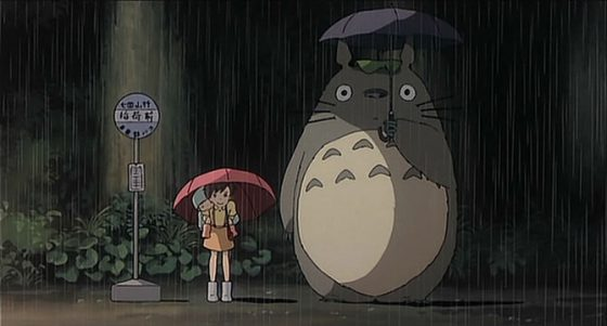 totoro-560x301 Top 10 Anime with Memorable Rain Scenes [Japan Poll]