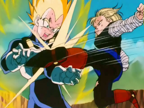 4. Dragon Ball Z episode 136