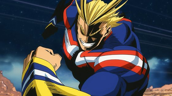All Might Boku no Hero Academia Capture