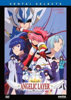 Angelic Layer dvd