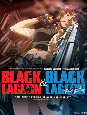 Black-Lagoon-Wallpaper Top 10 Action Anime [Updated Best Recommendations]