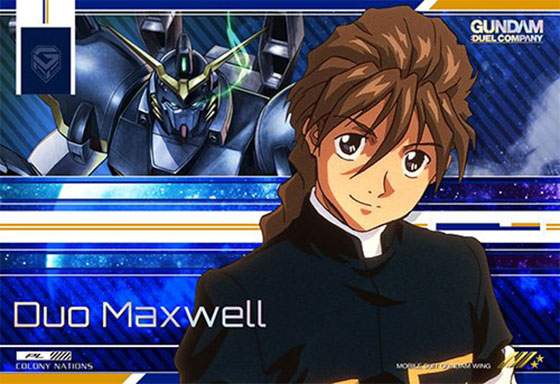 Duo Maxwell Mobile Suit Gundam Wing wallpaper