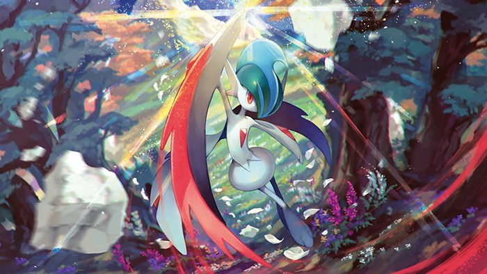 Gallade pokemon wallpaper