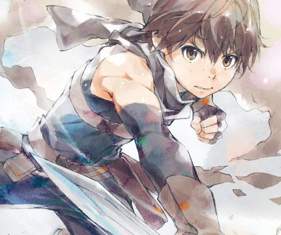 Haruhiro from Hai to Gensou no Grimgar endcard wallpaper