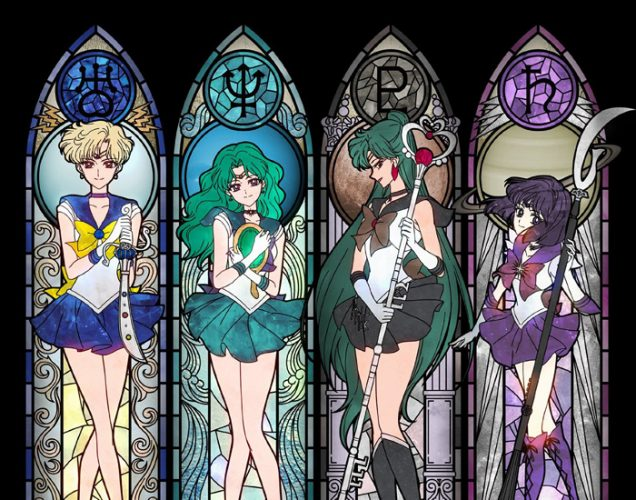 Hotaru Tomoe Bishoujo Senshi Sailor Moon Crystal Wallpaper