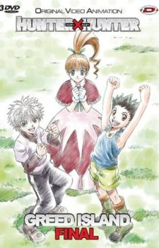 Hunter X Hunter  Greed Island Final dvd