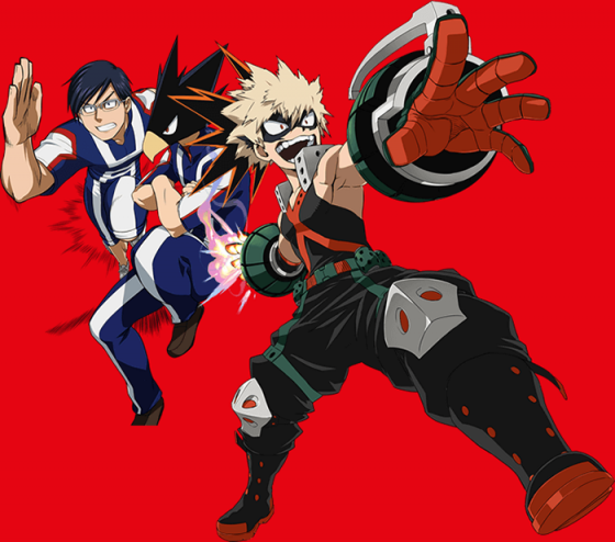 Katsuki Bakugou Boku no Hero Academia wallpaper