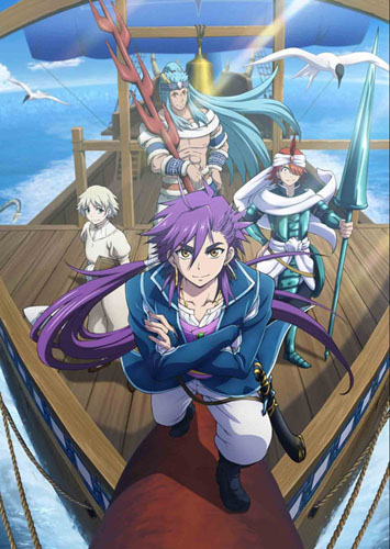 Sinbad-Magi-The-Labyrinth-of-Magic-manga-700x446 Top 10 Characters Who Wield the Power of Lightning [Updated]