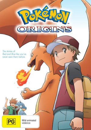 Pokemon The Origin dvd