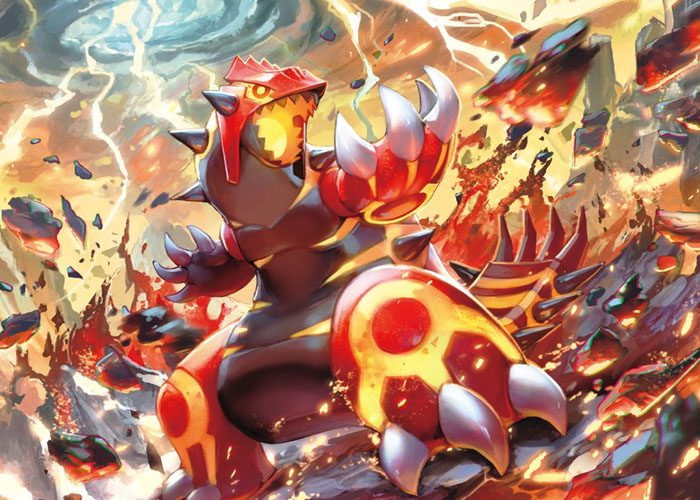 Primal Groudon pokemon wallpaper