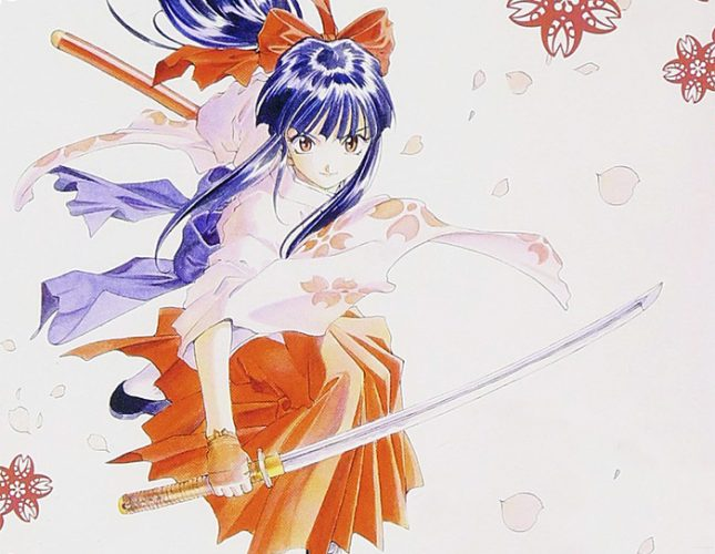Sakura-Shinguji-Sakura-Taisen-wallpaper-20160712220534-645x500 Top 10 Female Samurai / Anime Samurai Girl Characters