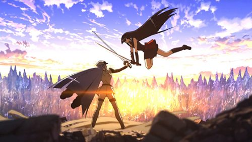 3 episode 24 Akame ga Kill Capture