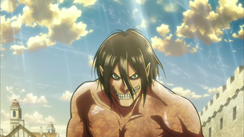 5. Shingeki no Kyojin Attack on Titan capture Eren's Titan Shift
