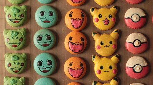 Anime inspired desserts Pokemonm
