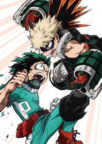 Boku-no-Hero-Academia-Bakugou-crunchyroll-1 What Makes Katsuki Bakugo a Good Rival
