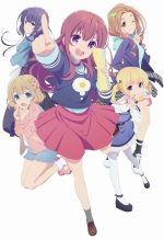 Seiyuu Anime Girlish Number Gets OP/ED, Studio, New Visuals!