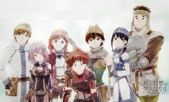 Hai to Gensou no Grimgar endcard wallpaper