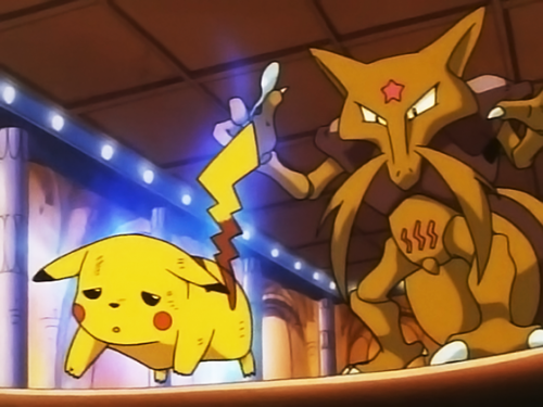 Pokemon Kadabra Evolve Images