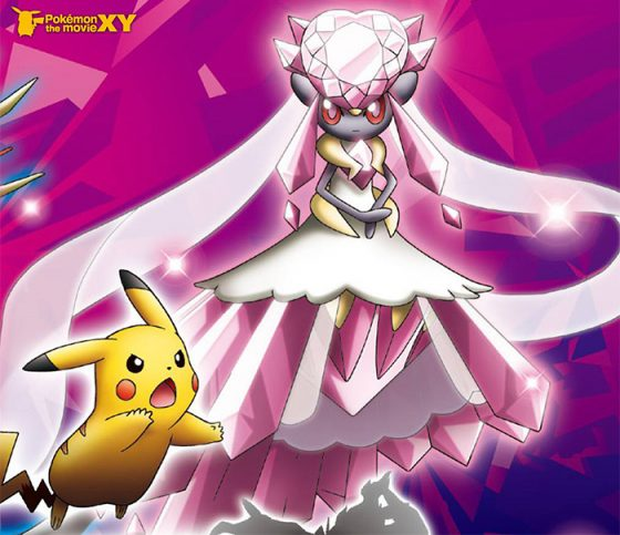 Mega Diancie pokemon wallpaper