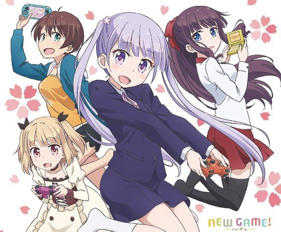 new-game-key-dvd-20160815035014-300x424 6 Animes parecidos a New Game!