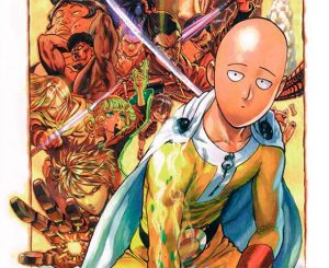 One Punch Man  manga wallpaper