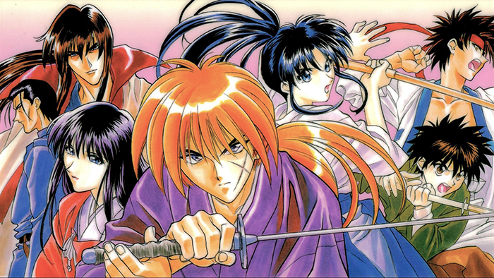 Rurouni-Kenshin-wallpaper Top 10 Manga Heroes