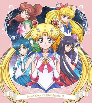 Sailor Moon Crystal Season3 dvd