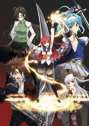 Shinmai Maou no Testament (The Testament of Sister New Devil BURST) dvd