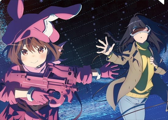 Sword Art Online Alternative Gun Gale Wallpaper Top