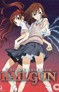 Toaru Kagaku no Railgun dvd