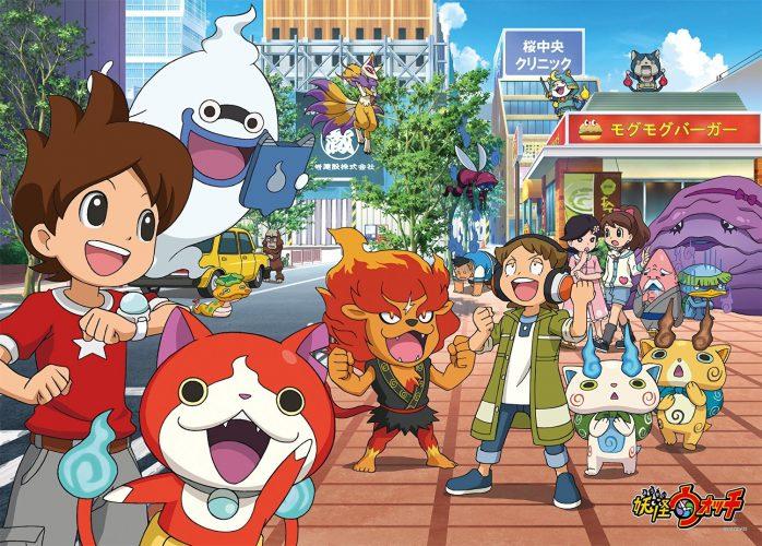 [7 Animes Indispensáveis] - Video Games - Era Moderna Parte 3[Final] Youkai-Watch-wallpaper-698x500