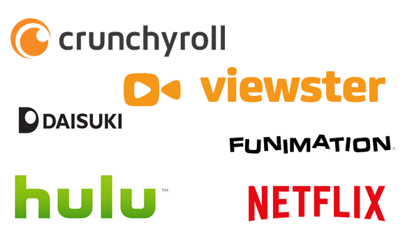 anime streaming service logo